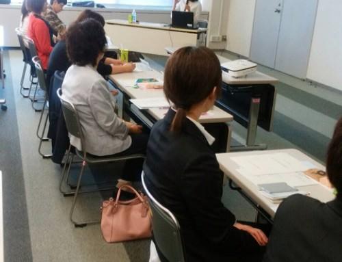 講演をさせて頂きました。「交通安全は家庭から」@富山市役所