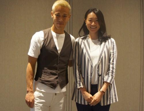 本田圭佑さん新規事業NowDoイベントへ。
