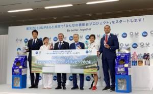 【メディア対応時 メイク 】東京2020・P&G「みんなの表彰台プロジェクト」合同記者発表会。