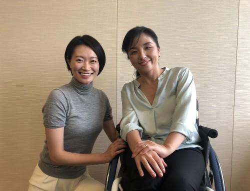 【アスリートビューティーメディアサポート】「東京2020聖火リレー公式アンバサダー」田口亜紀さんへ