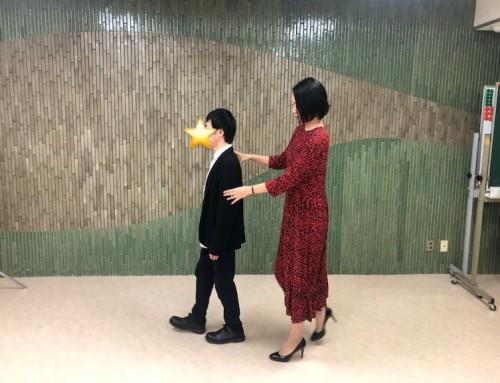 《ウォーキングレッスン》日本視覚障害者職能開発センターにて
