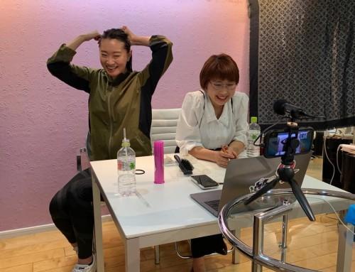 『チームアスリートビューティー』表参道にあるヘアメイクサロンAYOMOTの美容師が教える、スポーツ時の簡単ヘアアレンジ:ポニーテール・お団子 開催しました。(講師:大矢美紀)