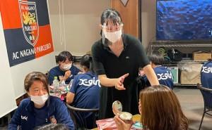 AC長野パルセイロ・レディースへ「コミュニケーション研修」を実施させていただきました。
